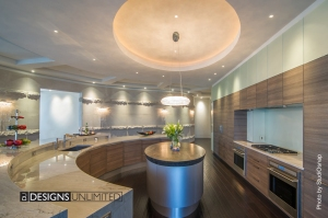Award-winning Poggenpohl custom kitchen by Designs Unlimited
